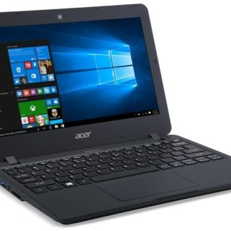 "Demo Acer TravelMate B117-M-C3C8 Celeron N3160/4 GB+N/32GB eMMC+N/A/HD Graphic/11.6"" HD matný/W10 Pro/Black"