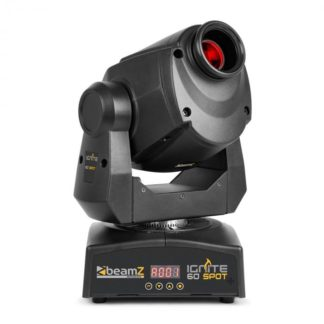 Beamz - Beamz Professional IGNITE60 LED Spot Moving Head 60W-LED DMX alebo stand-alone - 8715693295030