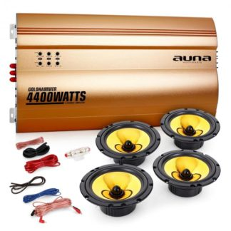 "Electronic-Star - Electronic-Star 4.0 auto hifi set ""Golden Race V6"" - 4260365787961"