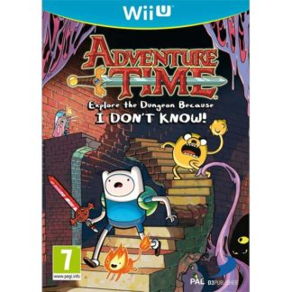 D3 Publisher - Adventure Time: Explore the Dungeon Because I Don´t Know Wii U -