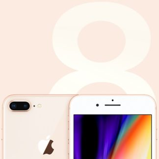 Apple - Apple iPhone 8 Plus 128GB Gold MX262CN/A - 190199294127