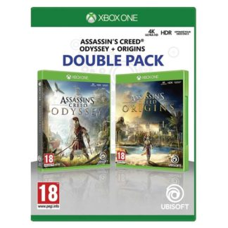 Ubisoft - Assassin's Creed: Odyssey & Assassin's Creed: Origins (Double Pack) XBOX ONE -