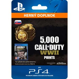 Activision - Call of Duty: WW2 Points - 5000 (SK) - 9212-50264