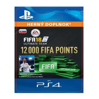 Electronic Arts - FIFA 18 Ultimate Team - 12000 FIFA Points SK - 9212-50220