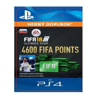 Electronic Arts - FIFA 18 Ultimate Team - 4600 FIFA Points SK - 9212-50222