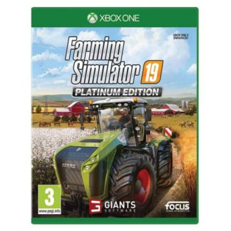 Focus Home Interactive - Farming Simulator 19 (Platinum Edition) XBOX ONE - 3512899122260