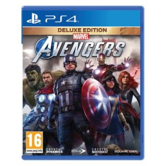 Square Enix - Marvel's Avengers CZ (Deluxe Edition) PS4 - 5021290085022