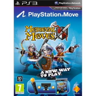 Sony Computer Entertainment - Medieval Moves + Sony PlayStation Move Starter Pack PS3 - 711719221913