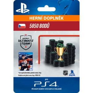 Electronic Arts - NHL 18 Ultimate Team - 5850 Hockey Points CZ - 9212-00257