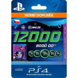 Electronic Arts - NHL 20 - 12000 Hockey Points CZ - 9212-00468