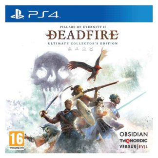 THQ Nordic - Pillars of Eternity 2: Deadfire (Ultimate Collector's Edition) PS4 - 9120080072245