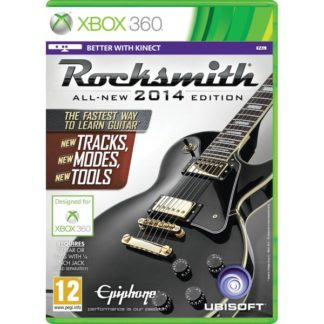 Ubisoft - Rocksmith (All-New 2014 Edition) + Real Tone Cable XBOX 360 - 3307215724873