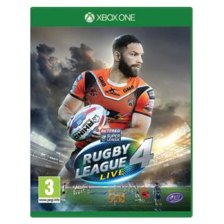 Alternative Software - Rugby League Live 4 XBOX ONE -