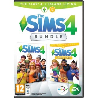 Electronic Arts - The Sims 4 CZ + The Sims 4: Život na ostrove CZ PC - 5030931123658