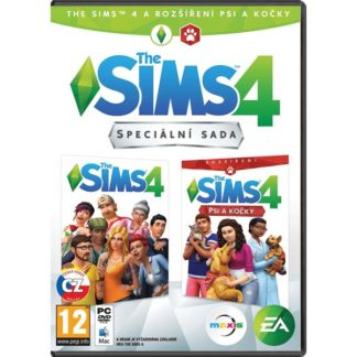 Electronic Arts - The Sims 4 CZ + The Sims 4: Psy a mačky CZ PC - 5030944122747