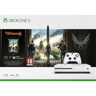 Microsoft - Xbox One S 1TB + Tom Clancy's The Division 2 CZ 234-00881 - 889842408416