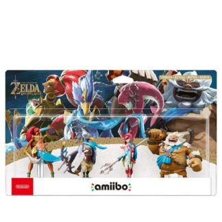 Nintendo - amiibo The Legend of Zelda Breath of the Wild Collection (The Legend of Zelda) NVL-E-AK4B - 045496380625