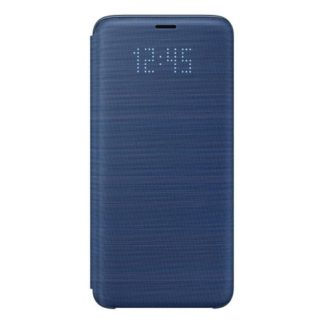 Samsung - EF-NG960PLE Samsung LED View Cover Blue pro G960 Galaxy S9 (EU Blister) - 8801643098551