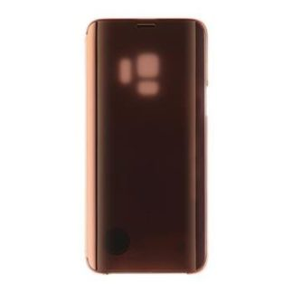 Samsung - EF-ZG960CFE Samsung Clear View Cover Gold pro G960 Galaxy S9 (Pošk. Blister) - 8596311051586