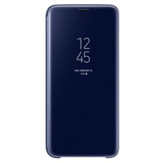 Samsung - EF-ZG960CLE Samsung Clear View Cover Blue pro G960 Galaxy S9 - 8801643098452