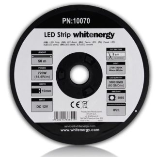 White Energy - LED pas WhiteEnergy 50m SMD5050 14.4W/ m 10mm