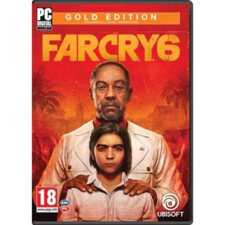 Ubisoft - Far Cry 6 (Gold Edition) PC Code-in-a-Box -