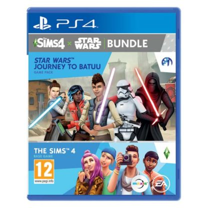 Electronic Arts - The Sims 4 + The Sims 4 Star Wars: Journey to Batuu PS4 - 5030941124263