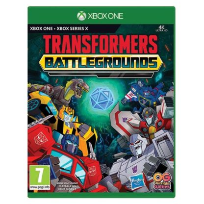 Outright Games - Transformers: Battlegrounds (Digital Deluxe Edition) XBOX ONE -