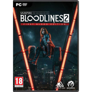 Paradox Interactive - Vampire: The Masquerade - Bloodlines 2 (First Blood Edition) PC - 4020628739102