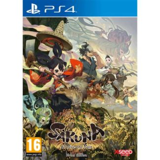 Marvelous - Sakuna: Of Rice and Ruin (Divine Limited Edition) PS4 - 859716006468